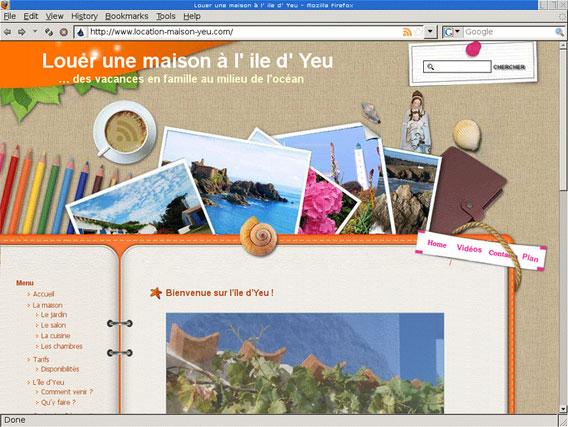 Web tolosa cr ateurs de sites internet web tolosa - Location maison ile yeu ...