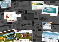 Web Tolosa, agence de création de sites Internet sur toute la France, crée des sites web de présentation des entreprises, e-commerce, intranets...